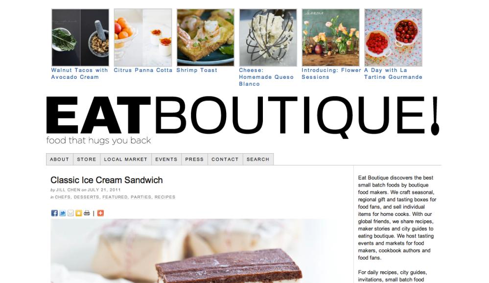 EatBoutique Screenshot